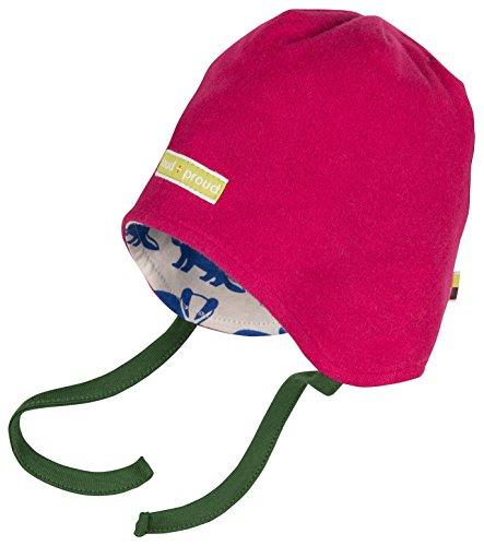 loud + proud Unisex Baby Mütze Fleece-7013, Violett (Berry Ber), 37/39 (Herstellergröße: 62/68) (Fleece Baby-fleece-mütze)