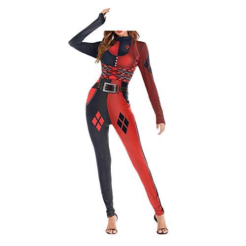Zhuhaimxy Xinvision Damen Erwachsene Halloween 3D Druck Cosplay -