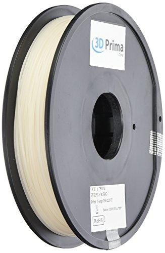 Prima 3dpccpla175pp 3d impresión filament, PLA, 1,75mm, 0.5kg bob