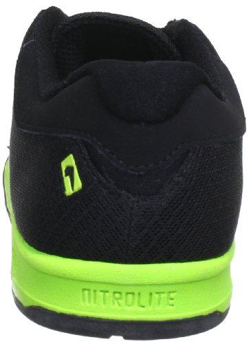 Globe Gblift, Baskets mode mixte adulte Noir (Black/Fluoro Green 10331)