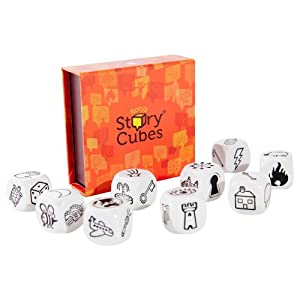 Asmodee Story Cubes: Clásico – Todas las versiones disponibles, Multilenguaje (STO01ML)