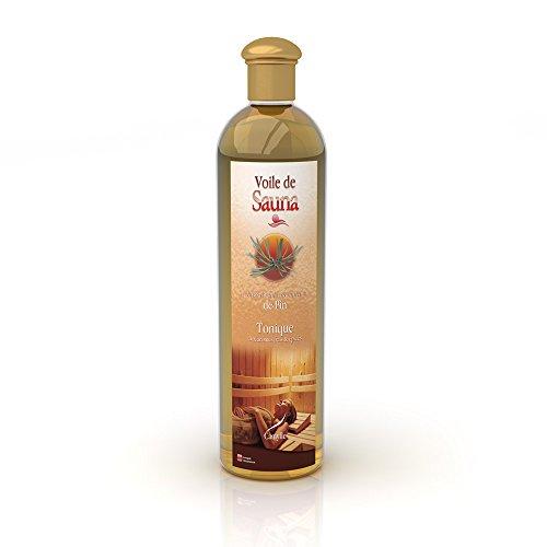 Camylle - Voile de Sauna - Saunaduft aus reinen ätherischen Ölen – Kiefer - Tonisch – 500ml
