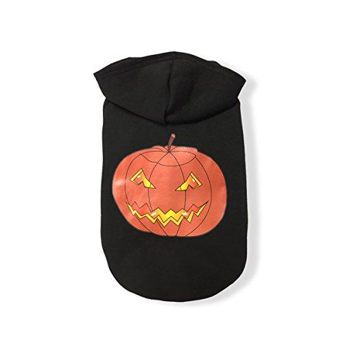PETCUTE Haustier Kleider Halloween Festivals Hund Cosplay Hoodies Bekleidung Hemd Kostüm Warm Winter Mantel (Dobermann Halloween Kostüme)