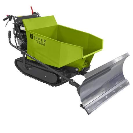 Zipper Mini Dumper ZI-MD500HS mit Kipphydraulik, Raupendumper, Motorschubkarre Kapazität bis 500 kg, Neu - mit stärkeren Motor