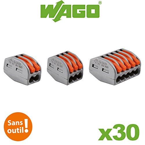 Wago - 30 Stück-Packung mit verschiedenen, automatischen 2-Leiter (Leiter 30)