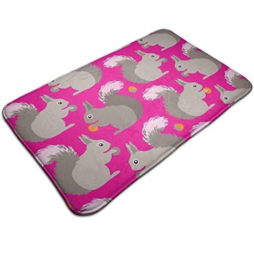 Ddoby tappetini antiscivolo da bagno visco tappetini in schiuma elastica per la casa, moquette lavabile/asciugatura rapida/anti fatica 40x60cm