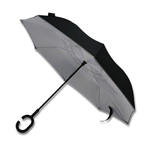 PUTUP - Der verkehrte Regenschirm - Das Original (schwarz-grau)