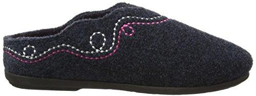 Padders - Aspen, Pantofole Donna Blu (Blu (Navy))