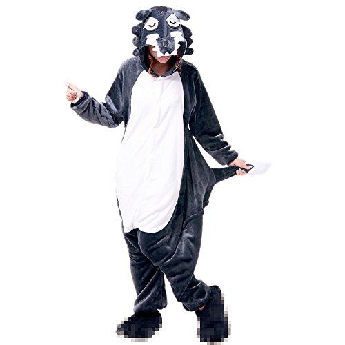 Imagen de misslight unicornio pijamas animal ropa de dormir cosplay disfraces kigurumi pijamas para adulto niños juguetes y juegos l, lobo