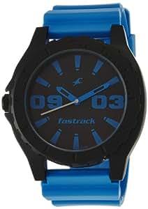 Fastrack OTS Sports Analog Black Dial Men's Watch - NE9462AP03J