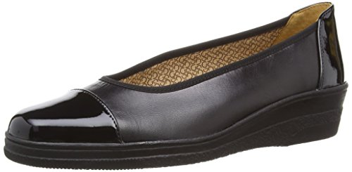 Gabor Petunia Women's Loafers, Black (Black Leather/Patent for sale  Delivered anywhere in UK