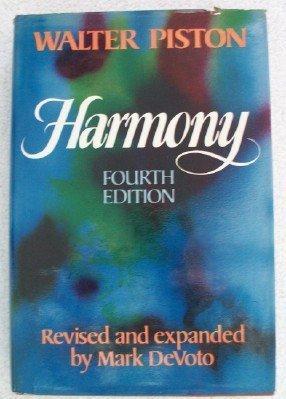 Harmony by Walter Piston (1978-01-01)