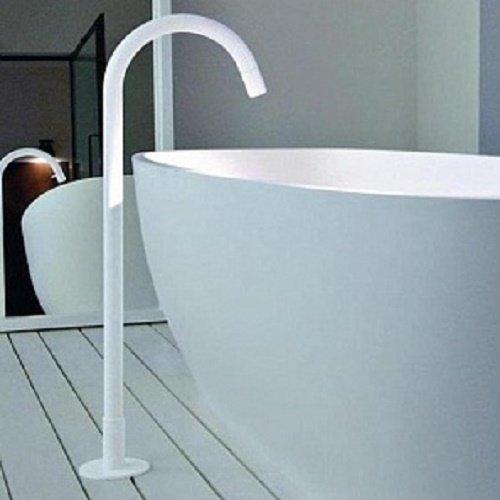 Agape Fez Mixers brass floorstanding bathtub spout ARUB1400000