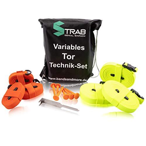 STRAB Premium Tor-Technik-Set - Perfekt für effektives Fußballtraining