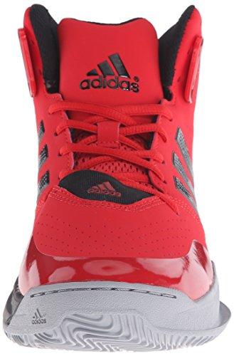 Adidas Performance outrival 2 Basketballschuh, schwarz / hell Onix / Silber Metallic, 6,5 M Us scarlet/black/white
