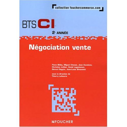 Négociation vente BTS CI 2e année
