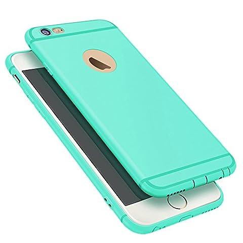 Coque iPhone 6/6s Plus,Coque de Protection Silicone Ultra Fine en