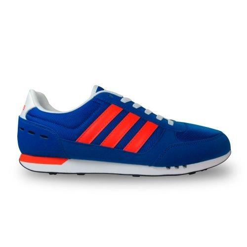 finest selection d7792 d0ec3 adidas Neo City Racer, Chaussures de Tennis Homme, Blau