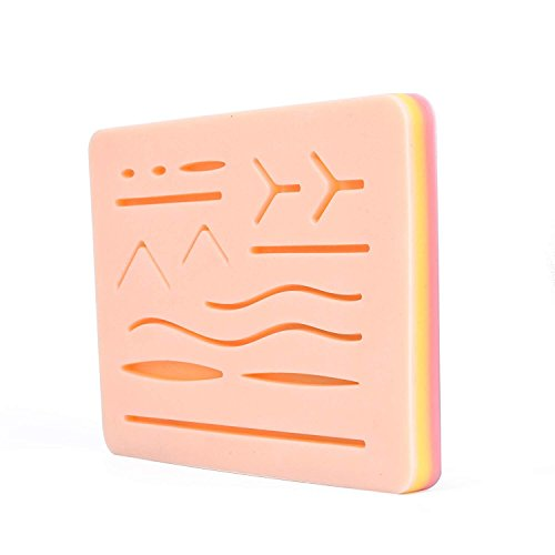 Large 3-Layer Suture Pad with Wounds (7.8