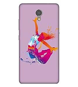 Dace, Multicolor, Dance Pattern, Amazing Pattern, Printed Designer Back Case Cover for Lenovo P2