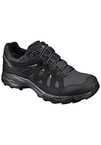 Salomon Herren L39356900 Trail Running Schuhe, Schwarz (Black), 43 1/3 EU