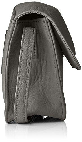 Legend Damen Kyra Umhängetasche, 5x13x17 cm Grau (Grey)
