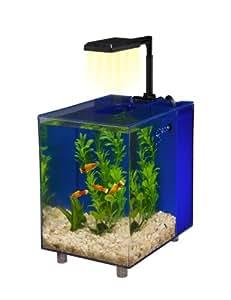 Penn Plax Aquariophilie Aqua Prisme Bleu 7,6 L