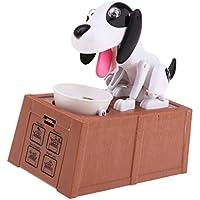 Preisvergleich für Sharplace Kunststoff Welpenmünze Bank Mein erstes Sparschweinchen Baby Glück kind-Spielzeug Reizender Hund Sparschwein