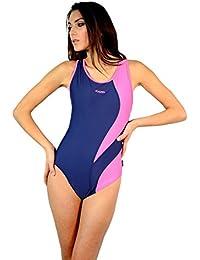 Badeanzug Schwimmanzug Wettkampfanzug, Tora, black