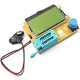 Jasnyfall LCR-T4 LCD Testeur de Transistor Numérique Testeur de Rétroéclairage Diode Capodimètre Blanc