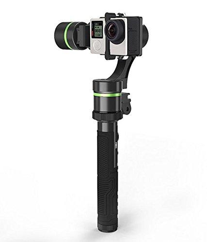 Preisvergleich Produktbild Gowe-Griff tragbar Kabel-Fernbedienung Gimbal Stabilisator für GoPro 33+ 4Action Kamera Videoaufzeichnung