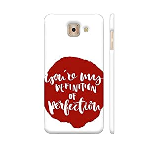 Colorpur You're My Definition Of Perfection Artwork On Samsung Galaxy J7 Max Cover (Designer Mobile Back Case) | Artist: Abhinav