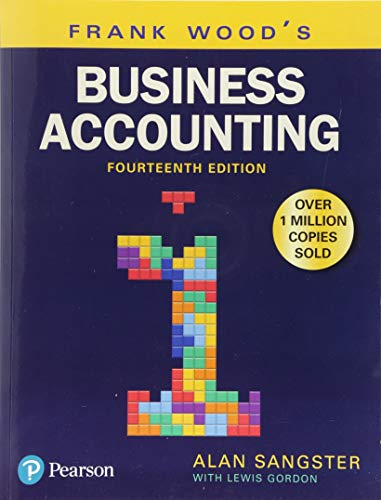 Frank Wood's Business Accounting Volume 1 par Alan Sangster