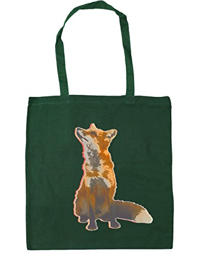 hippowarehouse-gazing-fox-tote-shopping-gym-beach-bag-42cm-x38cm-10-litres