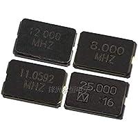 10PCS 8MHZ 8M 8,000mhz SMD Resonador de cuarzo Cristal 2Pin 5032 Oscilador de cristal pasivo