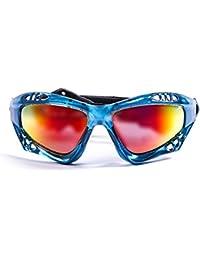 OCEAN SUNGLASSES lake garda - lunettes de soleil polarisÃBlackrolles - Monture : Vert Transparent - Verres : Revo Jaune (13001.5) X29Sm1Yk