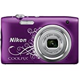 Nikon Coolpix A100 Appareil photo Compact 20 Mpix Violet Lineart
