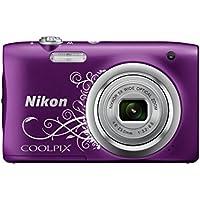 Nikon Coolpix A100 Kamera violett ornament