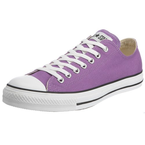 CONVERSE Chuck Taylor All Star Seasonal Ox, Unisex-Erwachsene Sneakers Violett (Purple/White/Black)
