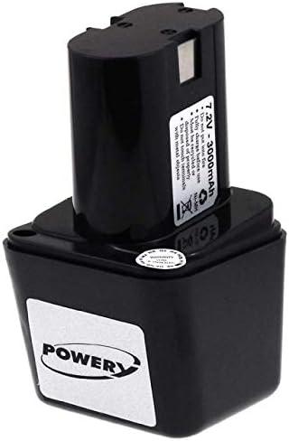 POWERY® Batteria Batteria Batteria per Bosch modello 2607335178 NiMH a bulbo   Sito Ufficiale    2019 Nuovo    Credibile Prestazioni  15d21b