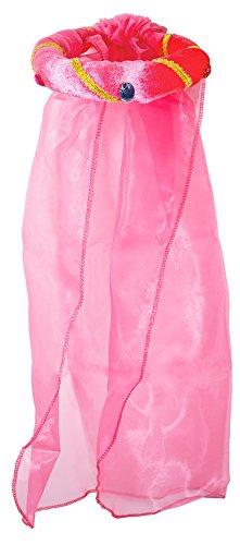 Rosalin für Mädchen zum Prinzessin oder Burgfräulein Kostüm - Pink (Mittelalter Kind)