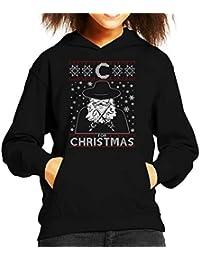 C For Christmas V For Vendetta Kid s Hooded Sweatshirt c862772a4ad2