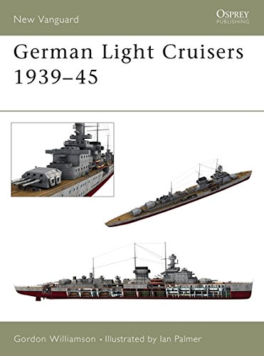 German Light Cruisers 1939-45 (New Vanguard)
