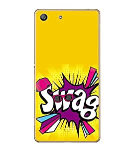 Fiobs Designer Back Case Cover for Sony Xperia M5 Dual :: Sony Xperia M5 E5633 E5643 E5663 (Swag Loot Chori)
