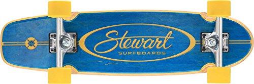"Flying Wheels, Skateboard stile vintage Stewart Regal, Blu (Blau - Blaugrün), 28,25"""