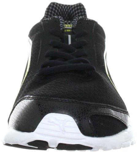 Puma Faas 400, chaussures de sport - course à pied homme Noir - Schwarz (black-warm olive-white 1)