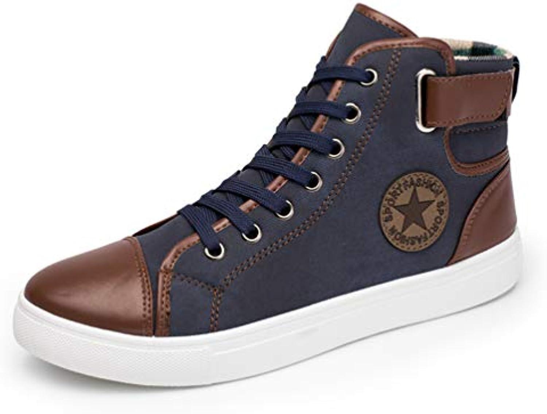 qianliuk hommes les chaussures de de de loisirs printemps haut la toile patchwork dentelle flats 213bbd