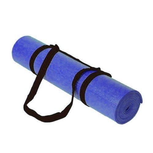Kabalo tapis de yoga 183cm x 61cm - bleu - Avec bandoulière - Accueil du matériel de gymnastique!