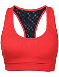 Sundried Sports Bra Crop Top For Running Gym Yoga Fitness
