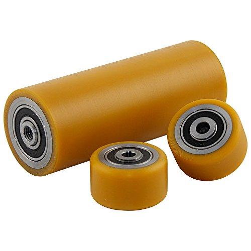 Polyurethan Laufräder Satz Ø 50mm geeignet für Aluminium Rangierwagenheber